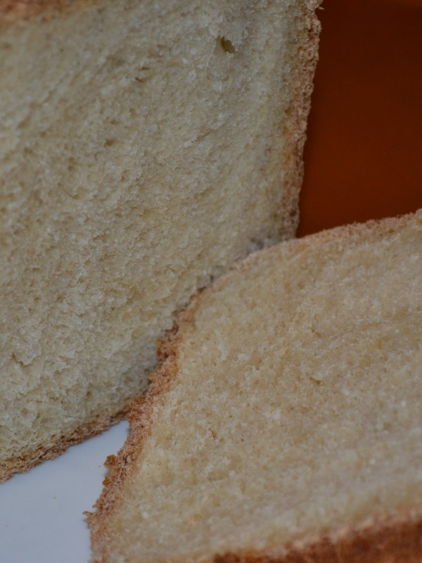 Basic White Bread Machine Recipe
