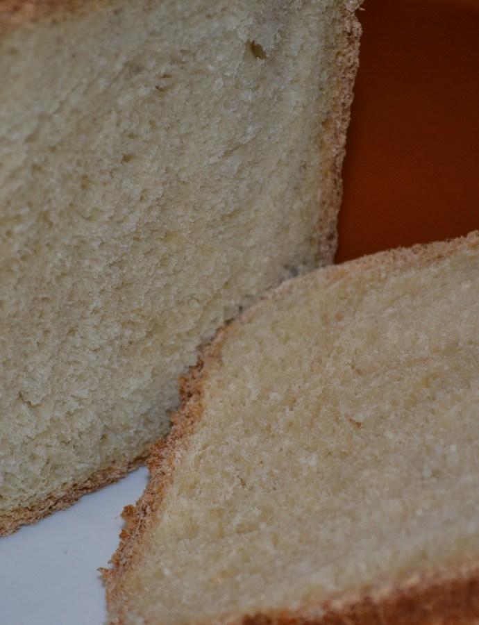 Basic White Bread in the bread machine