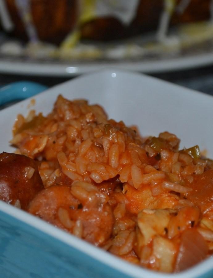 Homecooked Cajun Jambalaya