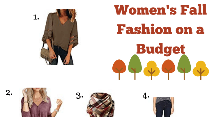 Women's Fall Fashion on a Budget; boots, layers and autumn colors! Enter the giveaway too.