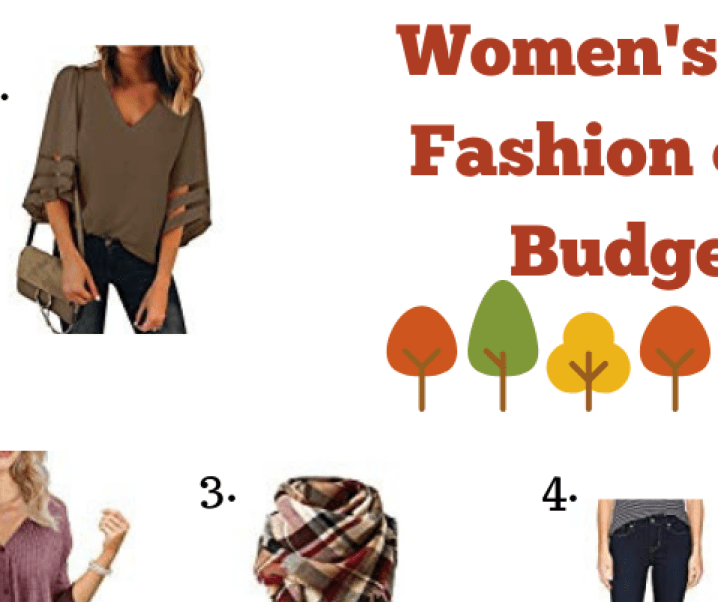 Women's Fall Fashion on a Budget #giveaway