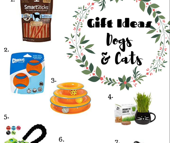 Gift Ideas for Dogs & Cats #HolidayGiftGuide