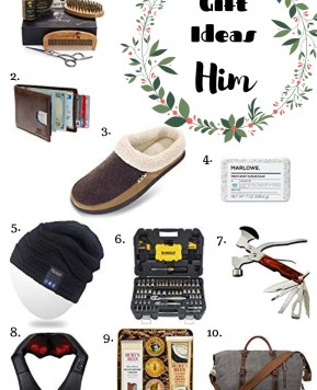 Gift Ideas for Him #HolidayGiftGuide
