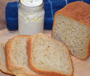 Tuscan Herb French Bread – in the Bread Machine