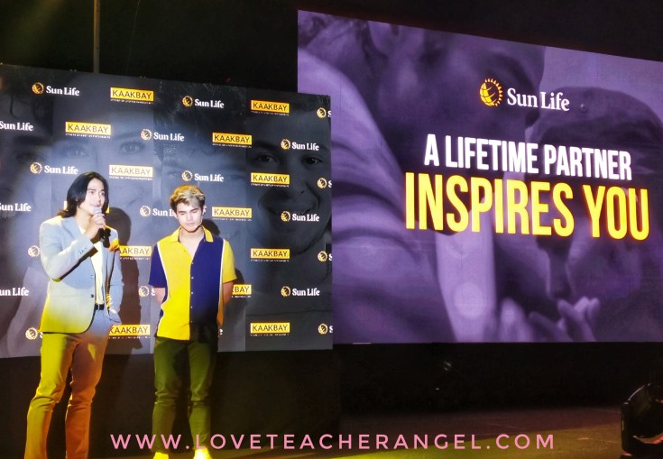 "Teacher Insights: Sun Life Financial Launch ""Kaakbay"" Films with Piolo, Inigo, Enchong, Matteo and Charo."