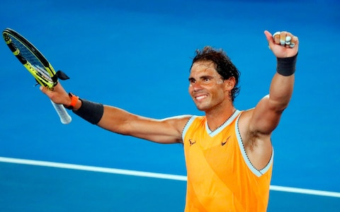 67271a97bc01d Nadal will wear the following Nike Australian Open Gear at the Australian  Open in 2019. The 2019 edition will be sleeveless. Nike released images of  this ...