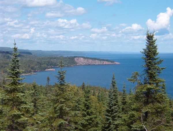 Backpacking in Lake Superior