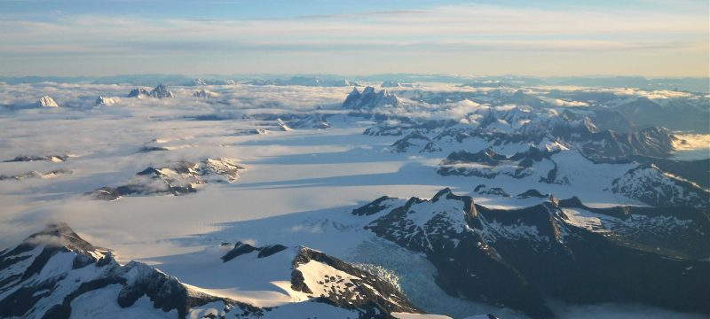 Glaciers in British Columbia