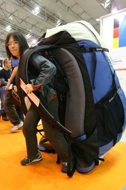 How to Backpack with Back Problems