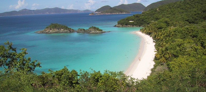 US Virgin Islands, hiking