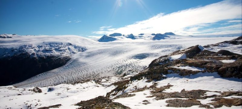 Harding Icefield, hikes, easy, winter, trails