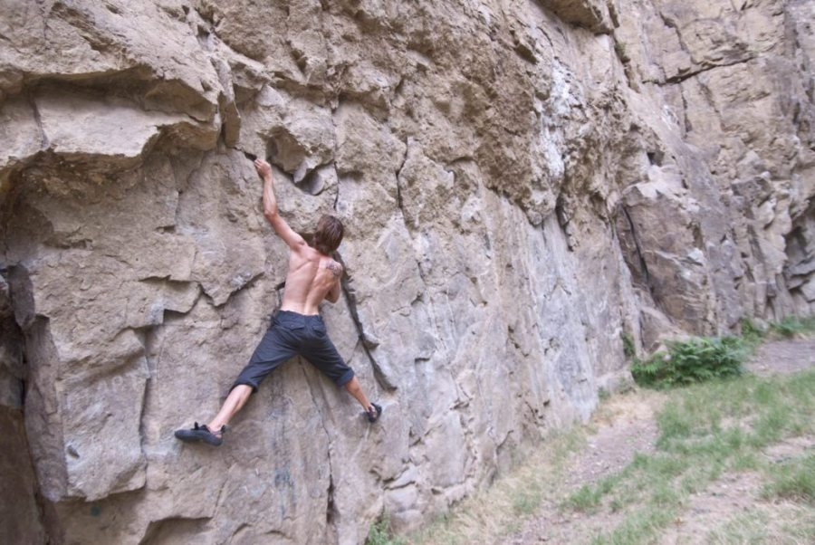 rock climbing, fitness, hiking, exercising, gym