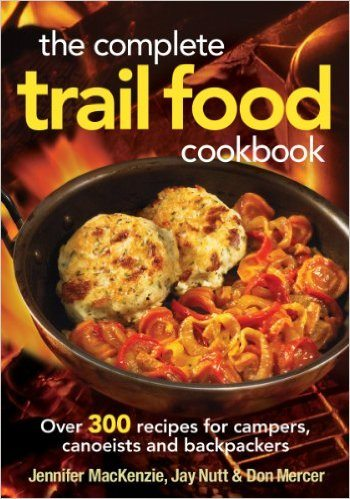 cookbooks, backcountry cookbooks, cooking, cookbook, outdoors, hiking, backpacking, trail