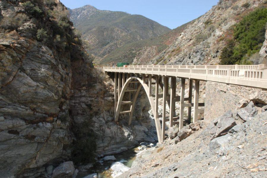 hiking, the bridge to nowhere, San Gabriel Mountains, too hot, summer, heat