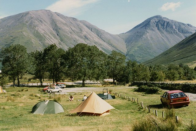 campsite, setting up, set up camp, hiking, car camping