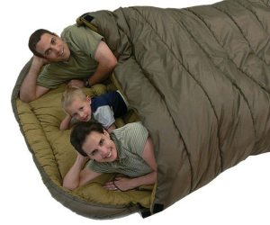 group, gear, sleeping bag