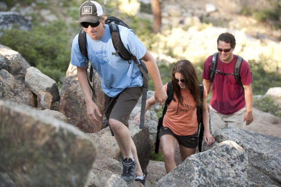 summer, hiking, stronger