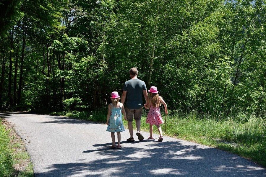 instill hiking, outdoors, kids, children