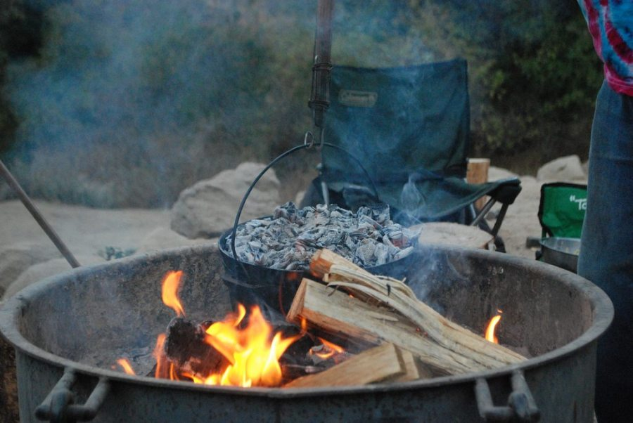 campfire soup, soup recipes, winter hiking, campfire