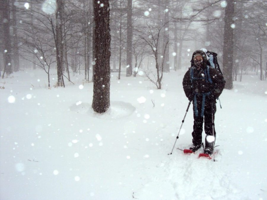 winter hiking, get in shape for winter hiking, exercise, routine, workout