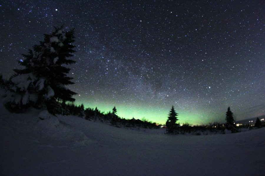 bring Christmas to the backcountry, stargazing