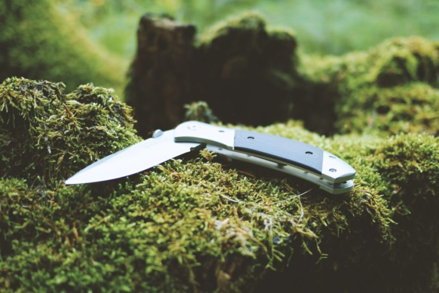 Ordinary objects with uses in the backcountry, knife