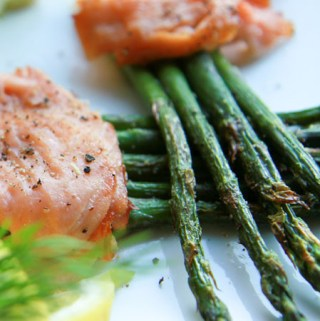 Asparagus and Smoked Salmon Bundle