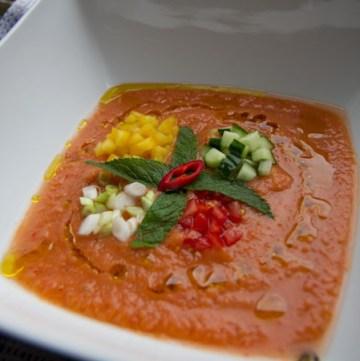Chilled Gazpacho Soup