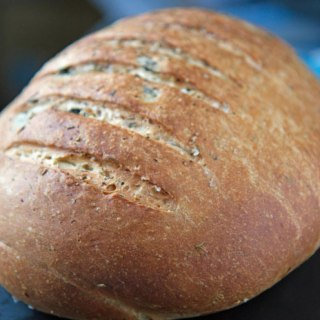 Black Olive and Herb Bread