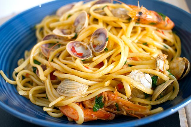 Seafood Vongole Linguine