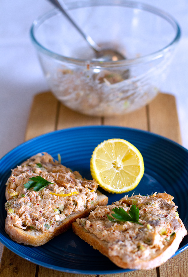 Smoked Mackerel Rillettes with Aleppo Pepper