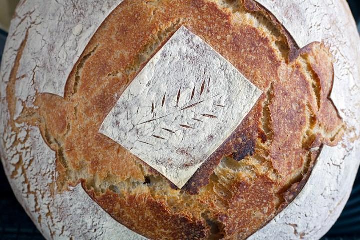 Baked Sourdough Boule