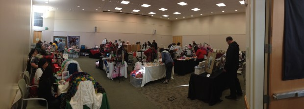 Over 30 vendors and many hundreds of people came through the craft faire.