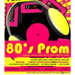 Party at the Library! Join Us for the 80's Adult Prom!