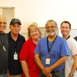 Rotarians Lend a Hand at the Library