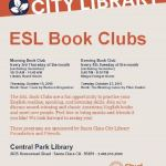 Supporting the ESL Book Clubs