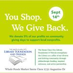 Donate by doing your shopping