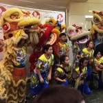 Lion Dancers for Lunar New Year