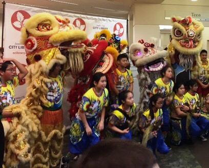 2017 Lion Dancers