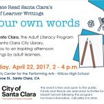 Join us at the In Our Own Words book launch on April 22