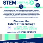 Join us at STEM Central tomorrow!