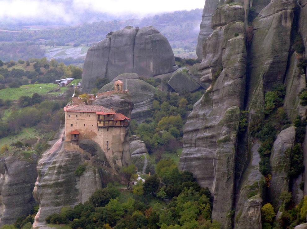 meteora monastery, world heritage site