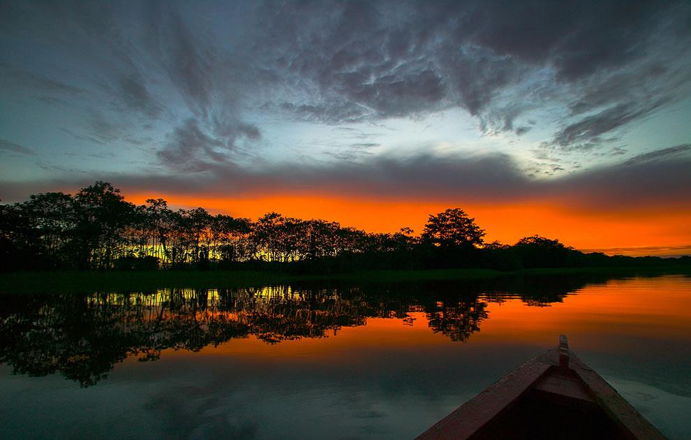 Amazonian Sunset