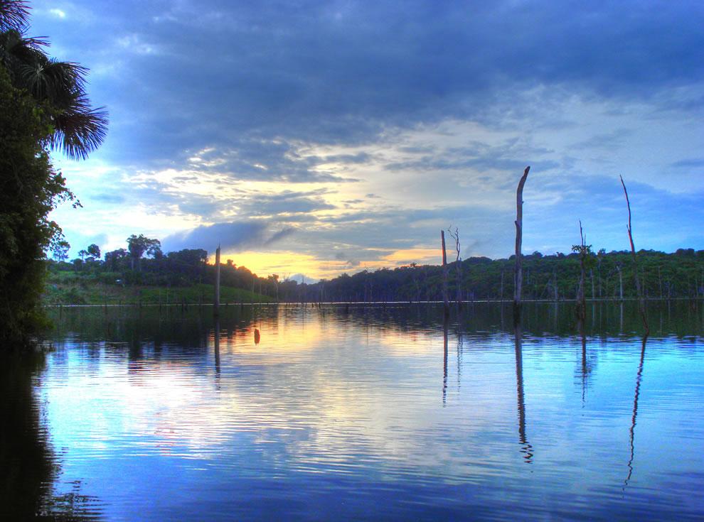 Balbina Dam in Amazon, Brazil