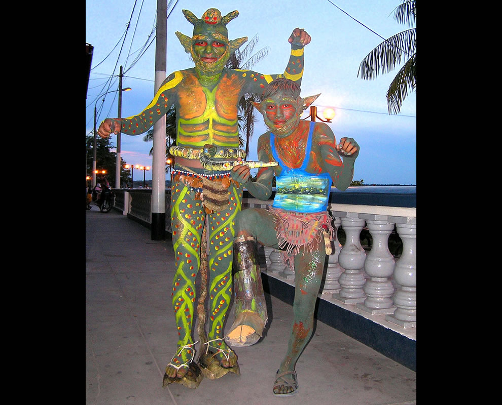 Yacumana and Chullachaqui are two demons of the local legends
