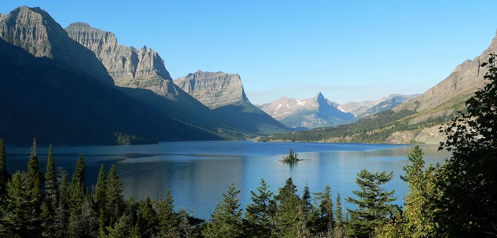 Glacier National Park -- St Mary Lake