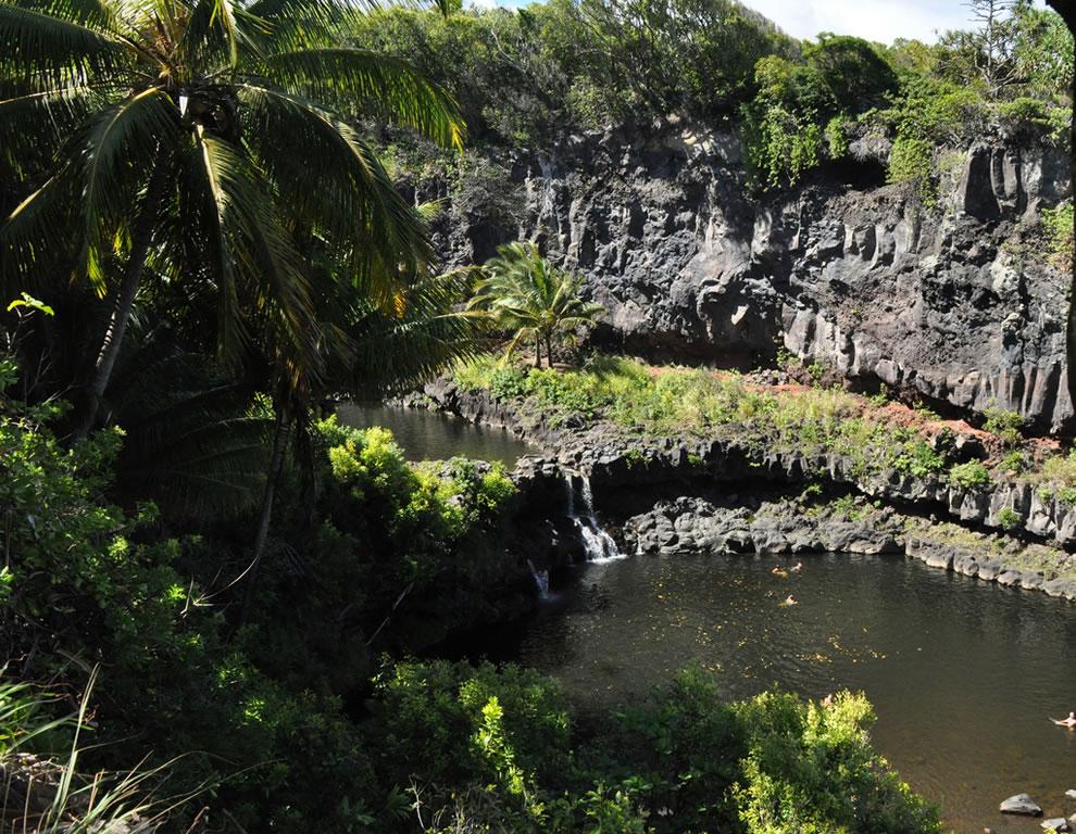 The Oheo Pools at Haleakala National Park