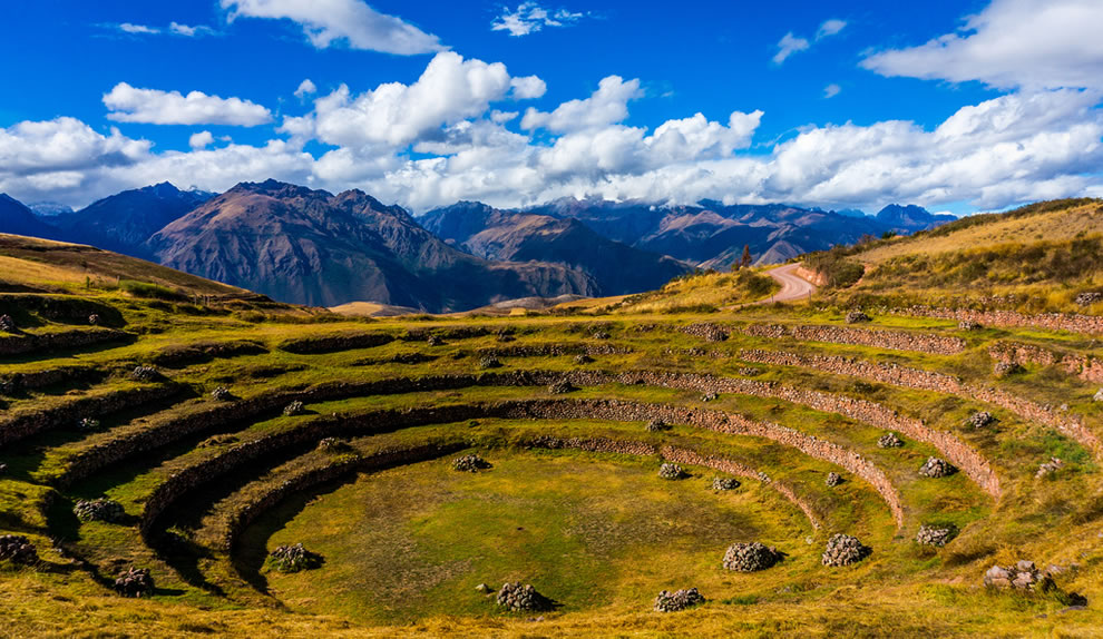 Moray (Inca ruin) Cusco, Peru