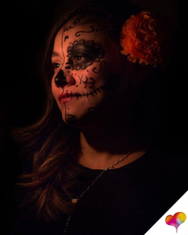 Einfache Halloween Make ups