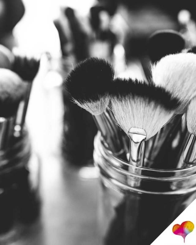 Welche Pinsel für Make-up
